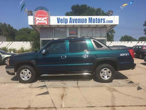 2006 Chevrolet Avalanche for sale at Velp Avenue Motors LLC in Green Bay WI