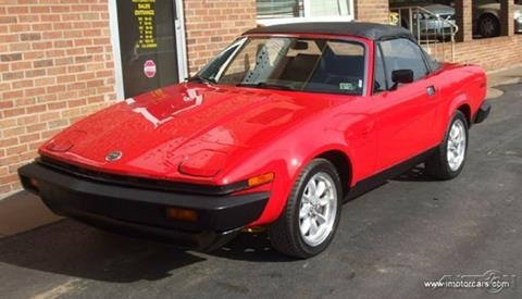 1981 Triumph n/a for sale in New Alexandria PA