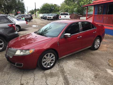 2010 Lincoln MKZ for sale in San Antonio, TX