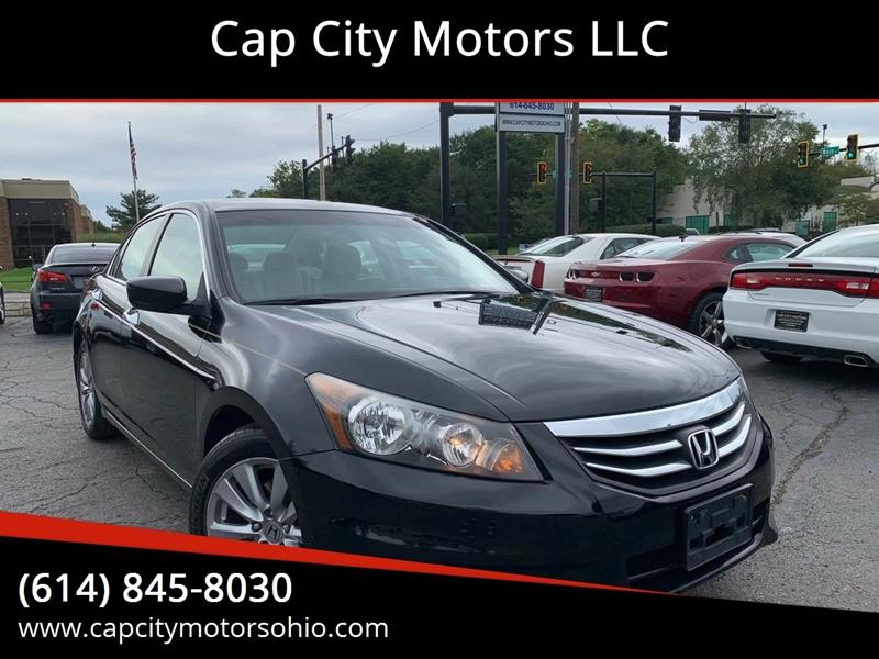 2012 Honda Accord For Sale At Cap City Motors LLC In Columbus OH