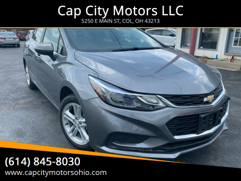2018 Chevrolet Cruze for sale at Cap City Motors LLC in Columbus OH