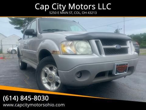 2002 Ford Explorer Sport Trac for sale at Cap City Motors LLC in Columbus OH
