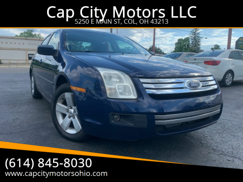 2006 Ford Fusion for sale at Cap City Motors LLC in Columbus OH
