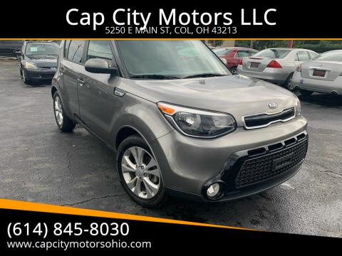 2016 Kia Soul for sale at Cap City Motors LLC in Columbus OH