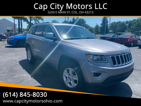 2015 Jeep Grand Cherokee for sale at Cap City Motors LLC in Columbus OH