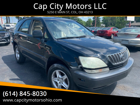 2002 Lexus RX 300 for sale at Cap City Motors LLC in Columbus OH