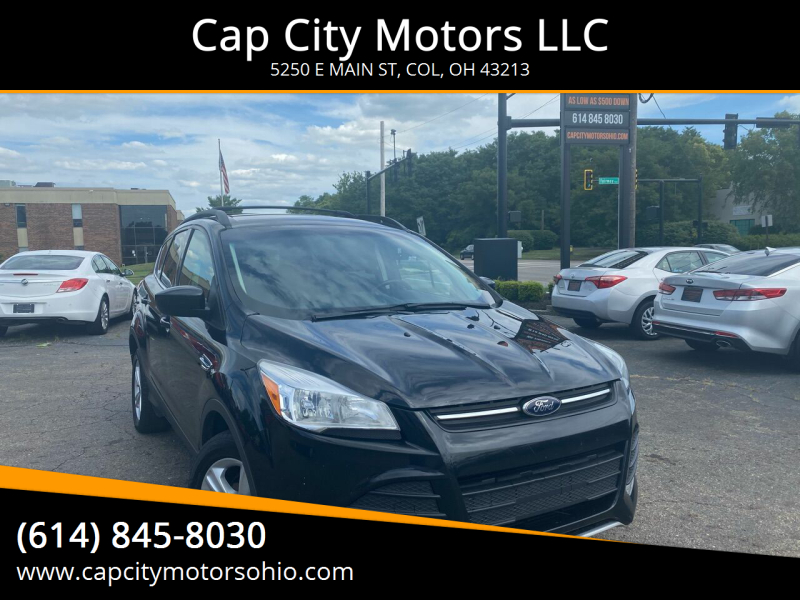 2014 Ford Escape for sale at Cap City Motors LLC in Columbus OH