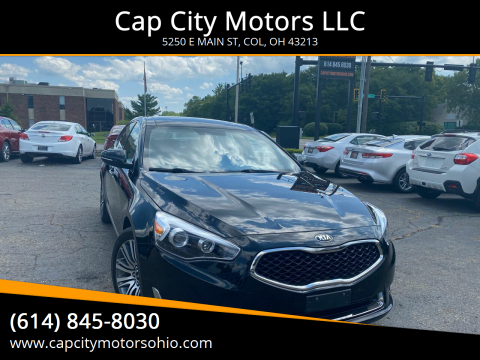 2016 Kia Cadenza for sale at Cap City Motors LLC in Columbus OH