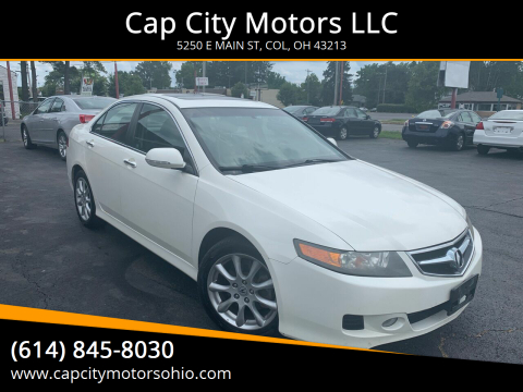 2008 Acura TSX for sale at Cap City Motors LLC in Columbus OH