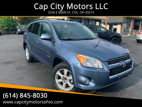2010 Toyota RAV4 for sale at Cap City Motors LLC in Columbus OH