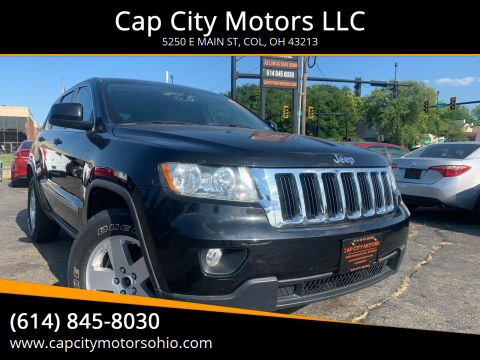 2012 Jeep Grand Cherokee for sale at Cap City Motors LLC in Columbus OH