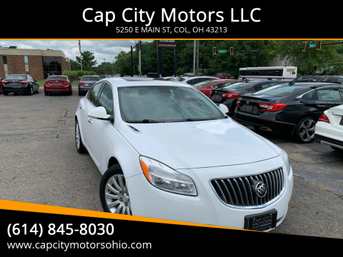 2013 Buick Regal for sale at Cap City Motors LLC in Columbus OH