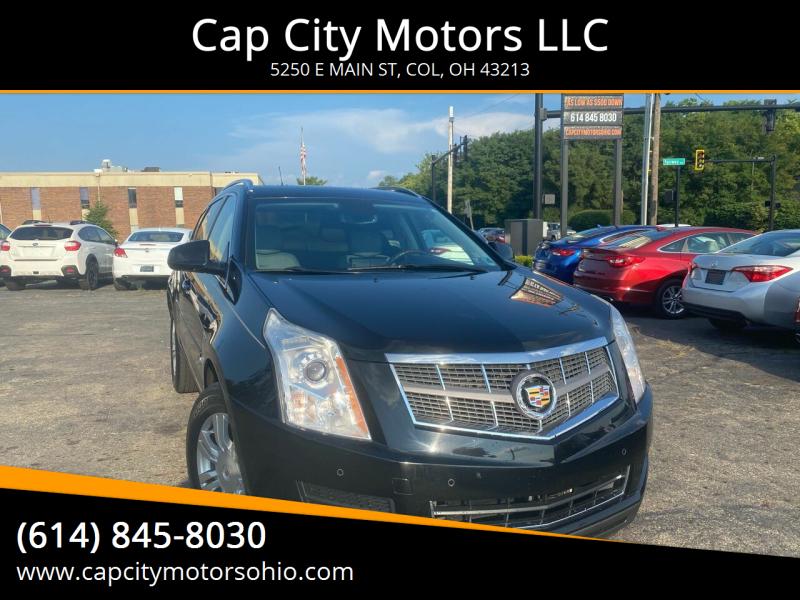 2010 Cadillac SRX for sale at Cap City Motors LLC in Columbus OH
