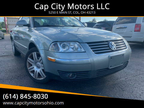 2005 Volkswagen Passat for sale at Cap City Motors LLC in Columbus OH