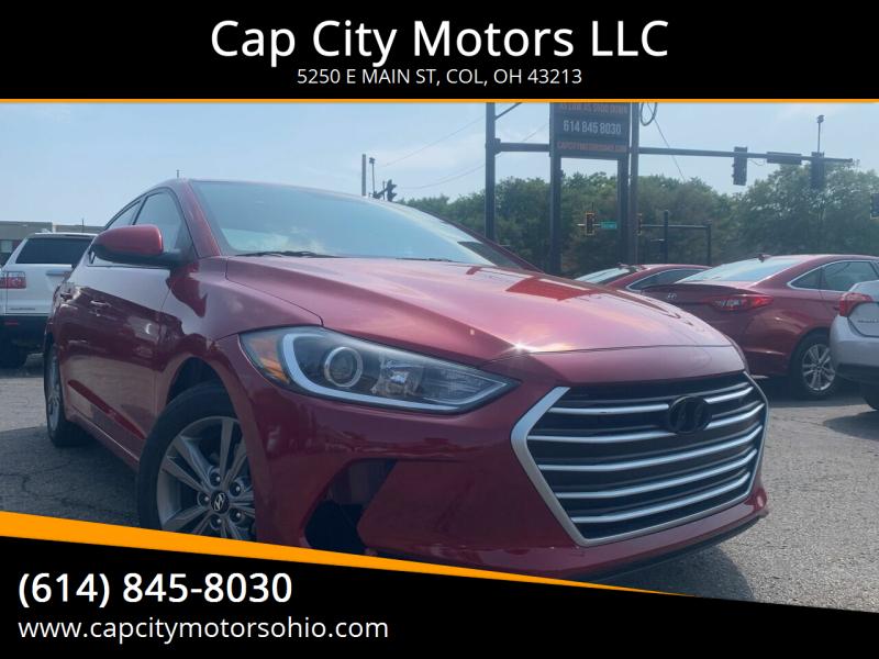 2017 Hyundai Elantra for sale at Cap City Motors LLC in Columbus OH