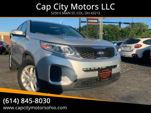 2014 Kia Sorento for sale at Cap City Motors LLC in Columbus OH