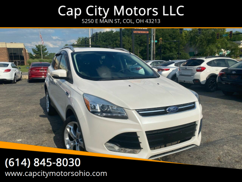 2013 Ford Escape for sale at Cap City Motors LLC in Columbus OH