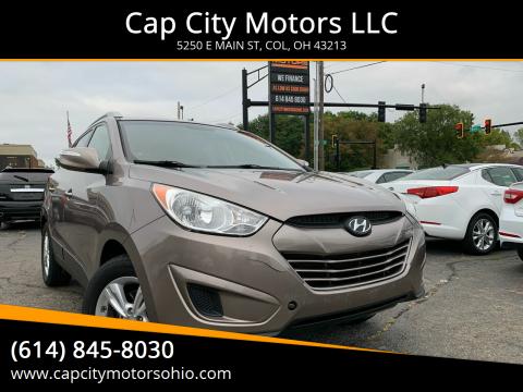 2012 Hyundai Tucson for sale at Cap City Motors LLC in Columbus OH