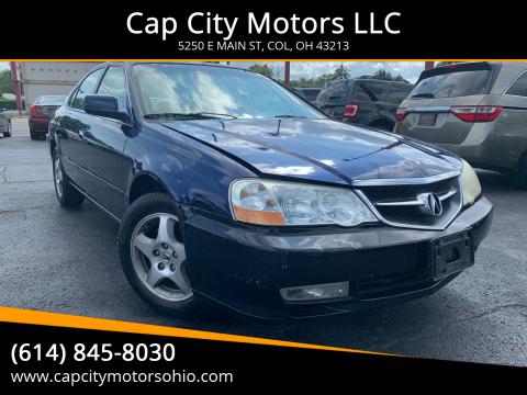 2002 Acura TL for sale at Cap City Motors LLC in Columbus OH