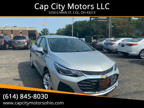 2019 Chevrolet Cruze for sale at Cap City Motors LLC in Columbus OH