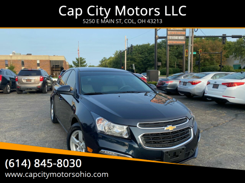 2016 Chevrolet Cruze Limited for sale at Cap City Motors LLC in Columbus OH