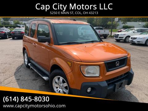 2006 Honda Element for sale at Cap City Motors LLC in Columbus OH