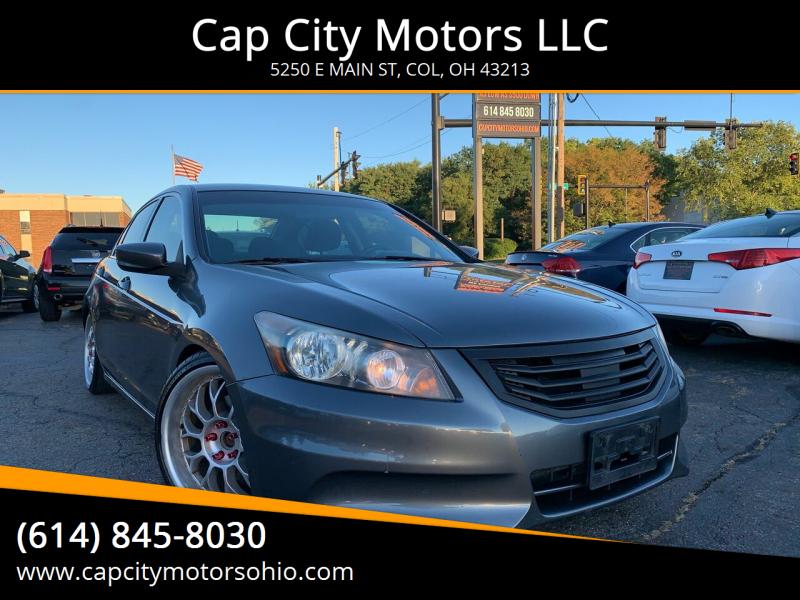 2011 Honda Accord for sale at Cap City Motors LLC in Columbus OH