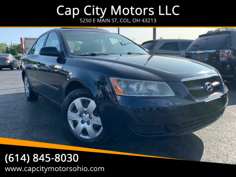 2008 Hyundai Sonata for sale at Cap City Motors LLC in Columbus OH