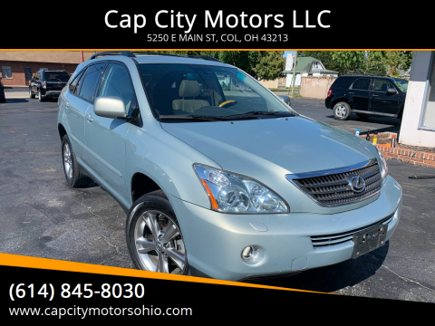 2007 Lexus RX 400h for sale at Cap City Motors LLC in Columbus OH