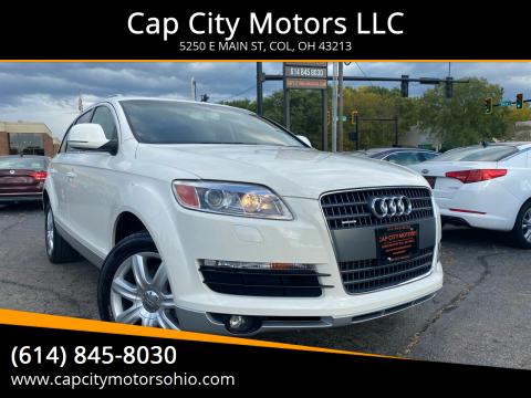 2007 Audi Q7 for sale at Cap City Motors LLC in Columbus OH