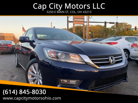 2013 Honda Accord for sale at Cap City Motors LLC in Columbus OH
