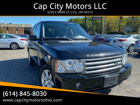 2008 Land Rover Range Rover for sale at Cap City Motors LLC in Columbus OH