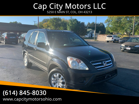 2005 Honda CR-V for sale at Cap City Motors LLC in Columbus OH