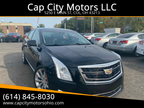 2016 Cadillac XTS for sale at Cap City Motors LLC in Columbus OH