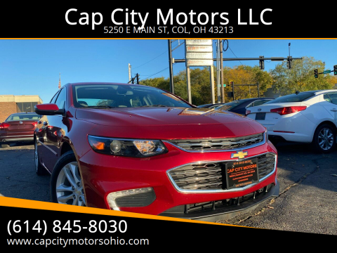 2016 Chevrolet Malibu for sale at Cap City Motors LLC in Columbus OH