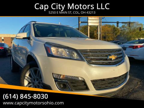 2015 Chevrolet Traverse for sale at Cap City Motors LLC in Columbus OH