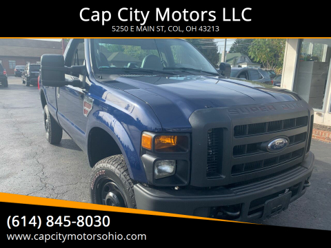 2010 Ford F-350 Super Duty for sale at Cap City Motors LLC in Columbus OH