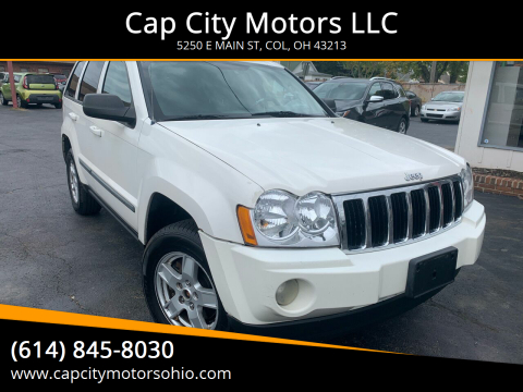 2007 Jeep Grand Cherokee for sale at Cap City Motors LLC in Columbus OH