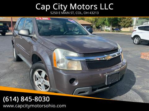 2008 Chevrolet Equinox for sale at Cap City Motors LLC in Columbus OH