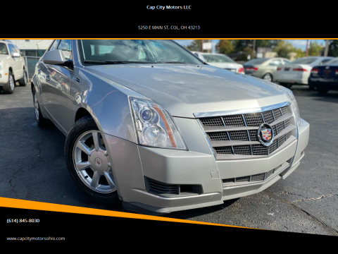 2008 Cadillac CTS for sale at Cap City Motors LLC in Columbus OH