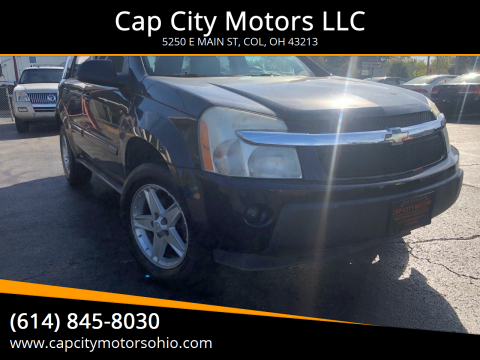 2005 Chevrolet Equinox for sale at Cap City Motors LLC in Columbus OH