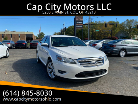 2010 Ford Taurus for sale at Cap City Motors LLC in Columbus OH