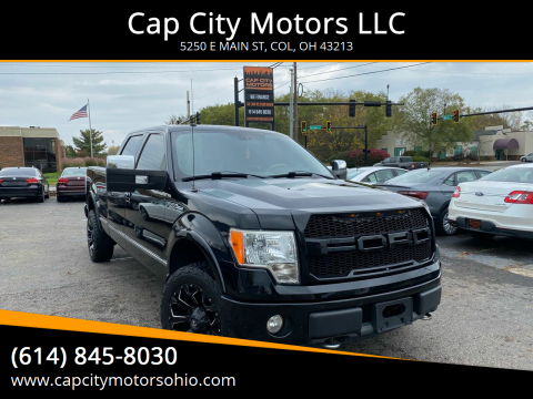 2009 Ford F-150 for sale at Cap City Motors LLC in Columbus OH