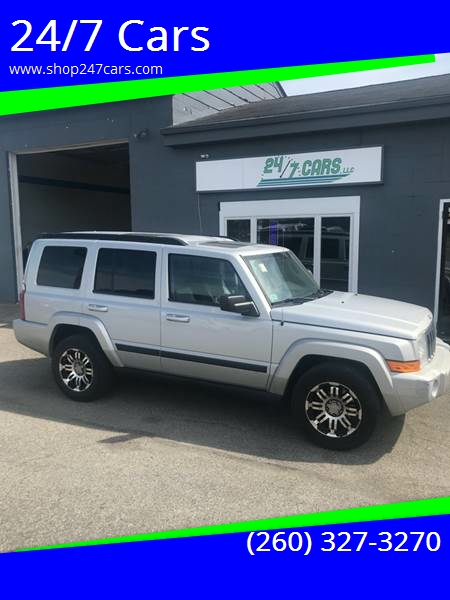 2007 Jeep Commander For Sale At 24/7 Cars In Larwill IN