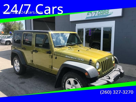 2008 Jeep Wrangler Unlimited for sale in Larwill, IN