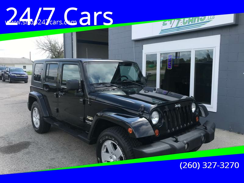 Great 2007 Jeep Wrangler Unlimited For Sale At 24/7 Cars In Larwill IN
