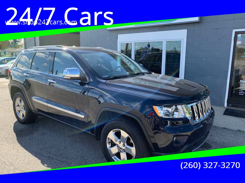 2011 Jeep Grand Cherokee For Sale At 24/7 Cars In Larwill IN