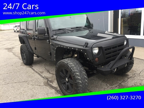 2012 Jeep Wrangler Unlimited for sale in Larwill, IN