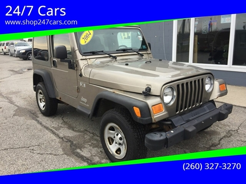 2004 Jeep Wrangler for sale in Larwill, IN
