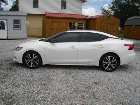 2016 Nissan Maxima for sale in Belmont, MS